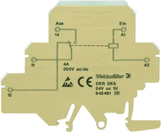 Koppelrelais 10 St. Weidmüller DKR DK5 24VUC 1U Schaltspannung (max.): 250 V/AC