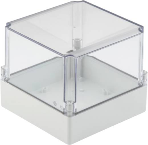 Universal-Gehäuse Polycarbonat Licht-Grau (RAL 7035) Weidmüller MPC 17/17/15 TRSP 4 St.