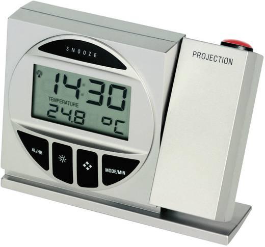 Funk Projektionsuhr digital TFA 98.1009 Silber