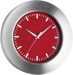 Quartz nástěnné hodiny TFA 98.1048.05, vnější Ø 30 cm, hliník (kartáčovaný)