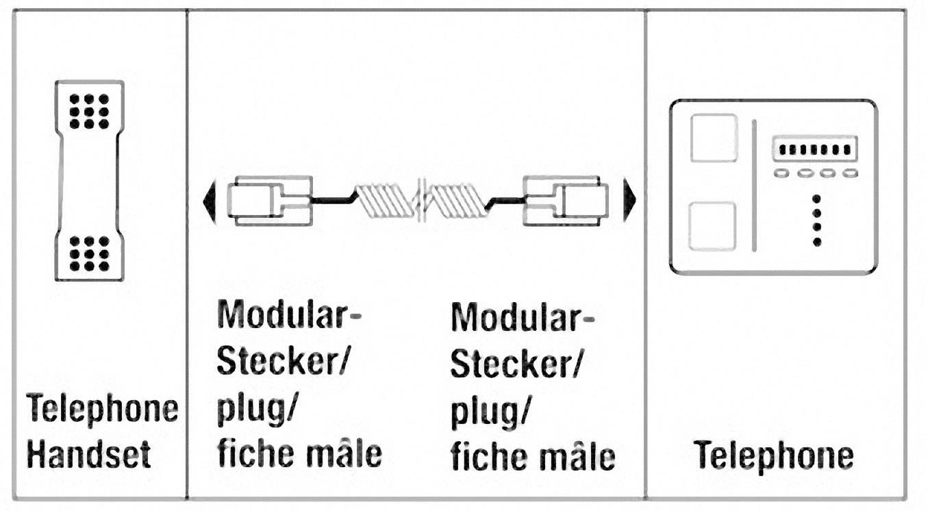 phone receiver cable 1x rj10 4p4c plug 1x rj10 4p4c plug spiral rh conrad com