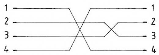 Telefonhörer Anschlusskabel [1x RJ10-Stecker 4p4c - 1x RJ10-Stecker 4p4c] Spiralkabel 1.50 m Schwarz Hama