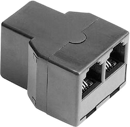 ISDN Adapter [1x RJ11-Buchse 6p4c - 1x RJ11-Buchse 6p4c] 0 m Schwarz Hama