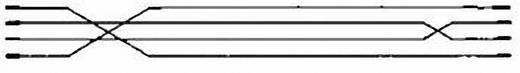 Telefon (analog) Anschlusskabel [1x RJ11-Stecker 6p4c - 1x RJ11-Stecker 6p4c] 6 m Schwarz Hama