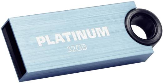 USB-Stick 32 GB Platinum Slender Blau 177547 USB 2.0