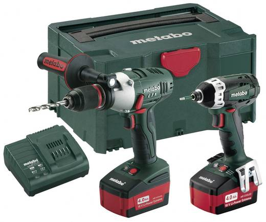 metabo combo set 2 1 5 18 volt aktionsset akku. Black Bedroom Furniture Sets. Home Design Ideas