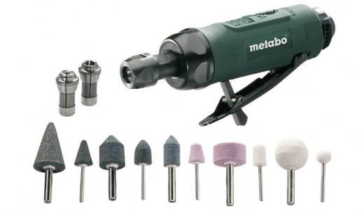 """Druckluft-Geradschleifer 1/4"""" (6.3 mm) 6.2 bar Metabo DG 25 Set inkl. Koffer"""