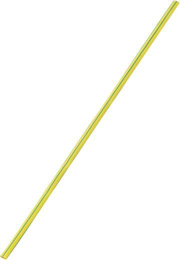 Schrumpfschlauch ohne Kleber Gelb-Grün 3 mm Schrumpfrate:3:1 393712 Meterware