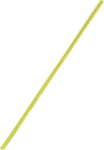 Schrumpfschlauch ohne Kleber Gelb-Grün 9 mm Schrumpfrate:3:1 Meterware