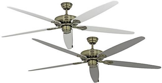 Deckenventilator CasaFan CLASSIC ROYAL 180 MA Lack weiß/lichtgrau (Ø) 180 cm Flügelfarbe: Weiß, Lichtgrau Gehäusefarbe: