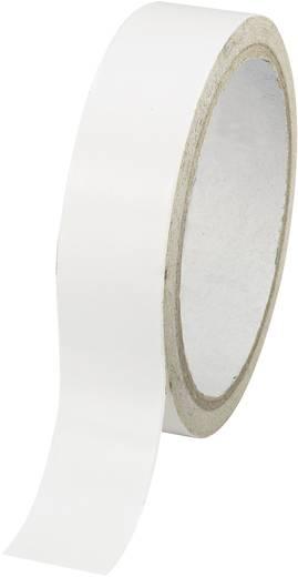 Doppelseitiges Klebeband Conrad Components Weiß (L x B) 30 m x 24 mm Acryl Inhalt: 1 Rolle(n)