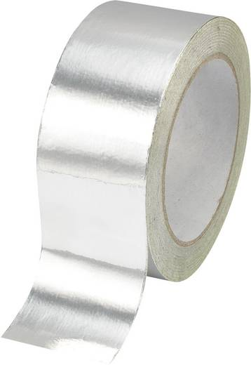 Aluminium-Klebeband AFT-10050 Silber (L x B) 50 m x 100 mm Conrad Components 438304 1 Rolle(n)