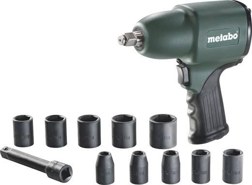 """Druckluft-Schlagschrauber Werkzeugaufnahme: 1/2"""" (12.5 mm) Außenvierkant Drehmoment (max.): 360 Nm Metabo DSSW 360 Set 6"""