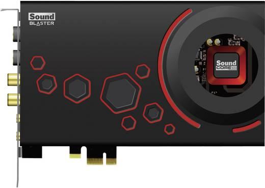 5.1 Soundkarte, Intern Creative Labs Sound Blaster ZxR PCIe x1 Digitalausgang, externe Kopfhöreranschlüsse, externe Laut