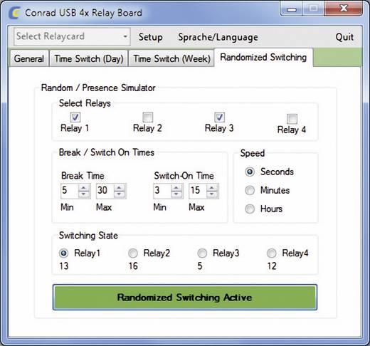 Relaiskarte Baustein Conrad Components 393905 5 V/DC