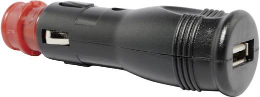 BAAS Universal-Steckeradapter USB3 Belastbarkeit Strom max.=1 A Passend für (Details) Zigarettenanzünder, Norm-Steckdosen, USB-A