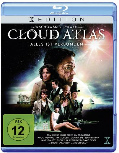 blu-ray Cloud Atlas FSK: 12