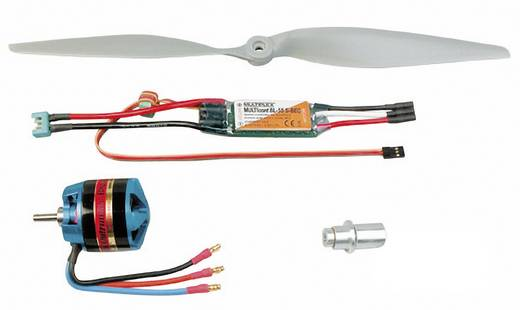 Flugmodell Brushless Antriebsset Multiplex 332663 Passend für: Multiplex Tucan, Multiplex Mentor