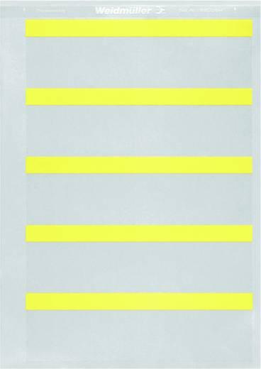 Beschriftungssystem Drucker Montageart: aufkleben Beschriftungsfläche: 54 x 8 mm Passend für Serie Baugruppen und Schaltanlagen, Geräte und Schaltgeräte, Universaleinsatz Weiß Weidmüller THM GEW FLAG 54/8 WS 1107350000 1 Rolle(n)