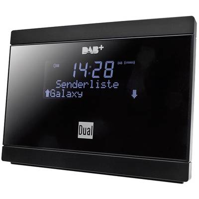 dual dab 2a dab radio adapter dab ukw schwarz kaufen. Black Bedroom Furniture Sets. Home Design Ideas