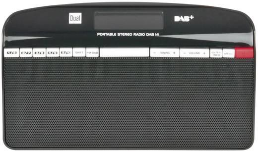 DAB+ Kofferradio Dual DAB 14 DAB+, UKW Schwarz