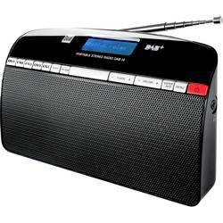 DAB + rádio Dual DAB 14, FM, strieborná