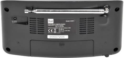 Dual DAB 14 DAB+ Kofferradio DAB+, UKW Schwarz