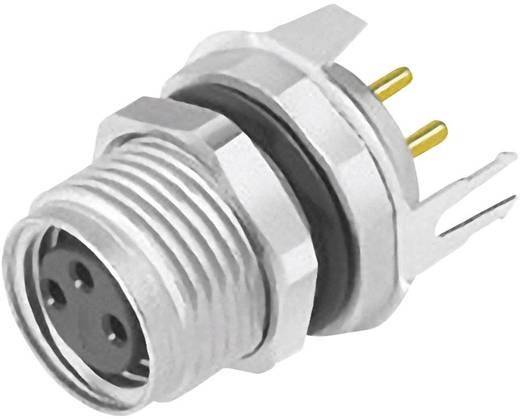 Sensor-/Aktor-Einbausteckverbinder M8 Buchse, gerade Polzahl (RJ): 4 Binder 09 3420 81 04 1 St.