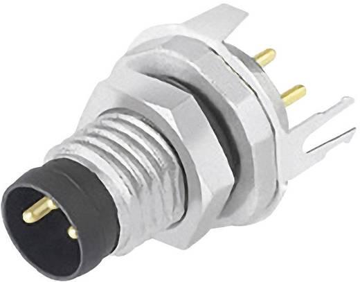 Sensor-/Aktor-Einbausteckverbinder M8 Stecker, Einbau Polzahl: 3 Binder 09 3419 81 03 1 St.