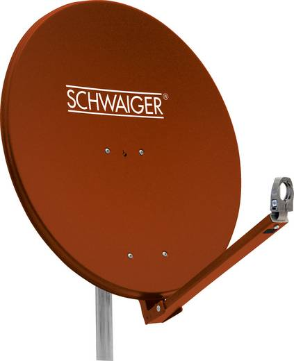 SAT Antenne 75 cm Schwaiger SPI710.2 Reflektormaterial: Aluminium Ziegel-Rot