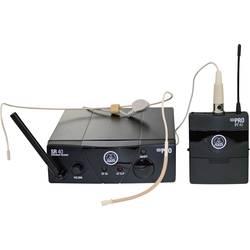 Bezdrôtový sada bezdrôtového mikrofónu headset AKG WMS40 Mini Sport Set ISM 2 WMS40-ISM2