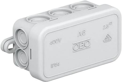 Abzweigkasten (L x B x H) 80 x 43 x 34 mm OBO Bettermann 2000001 Licht-Grau (RAL 7035) IP55