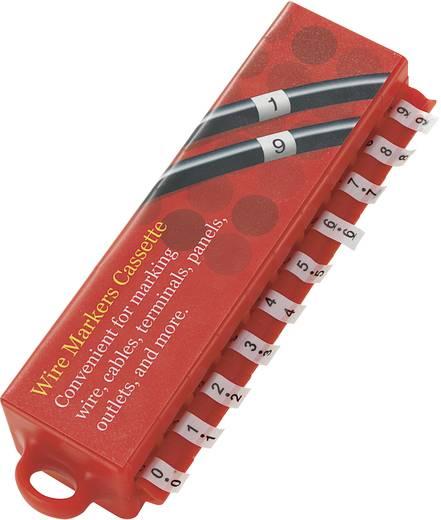 Kennzeichnungsklebe-Set Aufdruck 0 - 9 28531c160 MD Conrad Components