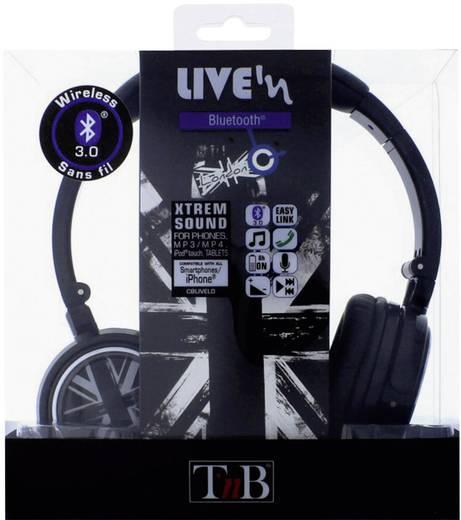 TNB Kopfhörer London Bluetooth Frequenzbereich 0.4 - 2.4 GHz Schall-Druck (dB) 40 dB Schwarz