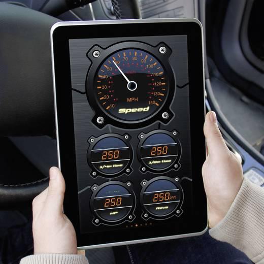 Bluetooth® OBD-II Car Interface cartrend 80290 Geeignet für alle Fahrzeuge mit OBD II Buchse