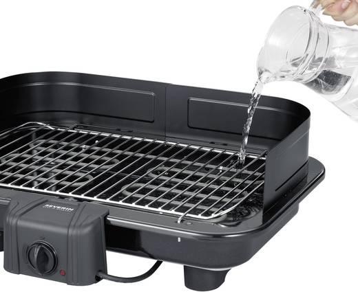 tisch elektro grill severin pg 2791 mit manueller temperatureinstellung schwarz. Black Bedroom Furniture Sets. Home Design Ideas