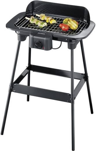 Stand Elektro-Grill Severin PG 8521 mit manueller Temperatureinstellung Schwarz