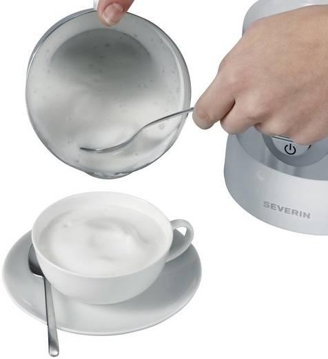 Induktions-Milchaufschäumer Severin SM 9685 Silber, Weiß SM 9685 500 W