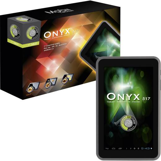 Point of View Onyx 517 Android-Tablet 17.8 cm (7 Zoll) 8 GB GSM/2G, UMTS/3G Schwarz 1.2 GHz Dual Core Android™ 4.0 1024