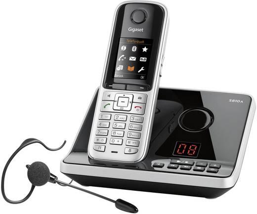 schnurloses telefon analog gigaset s810a mit headset. Black Bedroom Furniture Sets. Home Design Ideas