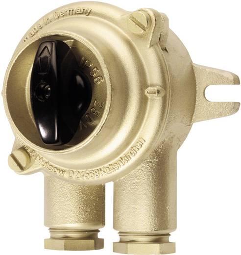 HNA-Schalter, Drehschalter Maritimes 10 A 250 V/AC Messing Wiska 1133/2/WE/10A-2xZ14 1 St.