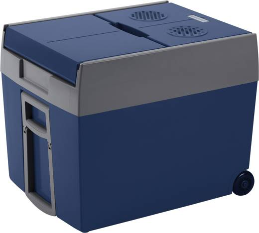 Kühlbox Thermoelektrisch W48 12/230 12 V, 230 V Blau, Grau 48 l EEK=A++ MobiCool