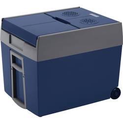 Přenosná lednice (autochladnička) MobiCool W48 12/230, 12 V, 230 V, 48 l, modrá, šedá