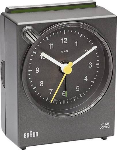 Quarz Wecker Braun 66033 Grau