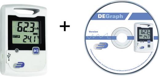 Multi-Datenlogger Dostmann Electronic LOG20 Set Messgröße Temperatur, Luftfeuchtigkeit -30 bis 60 °C 0 bis 99 % rF