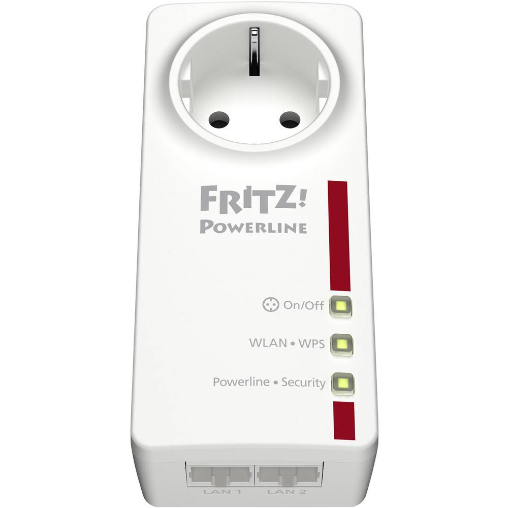 powerline wlan adapter 500 mbit s avm fritz powerline. Black Bedroom Furniture Sets. Home Design Ideas