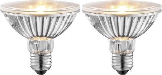 Halogen 92 mm Sygonix 230 V E27 50 W Warm-Weiß EEK: E Reflektor dimmbar 2 St.