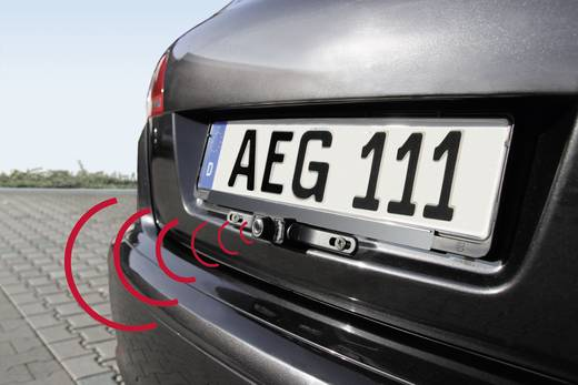 Funk-Rückfahrvideosystem RV 3.5 AEG IR-Zusatzlicht Aufbau