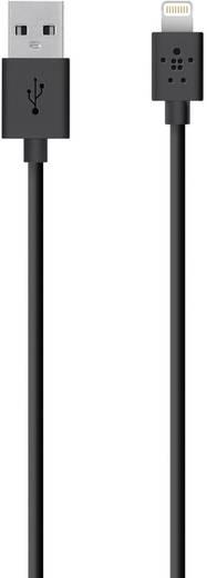 iPad/iPhone/iPod Datenkabel/Ladekabel [1x USB 2.0 Stecker A - 1x Apple Dock-Stecker Lightning] 1.2 m Schwarz Belkin