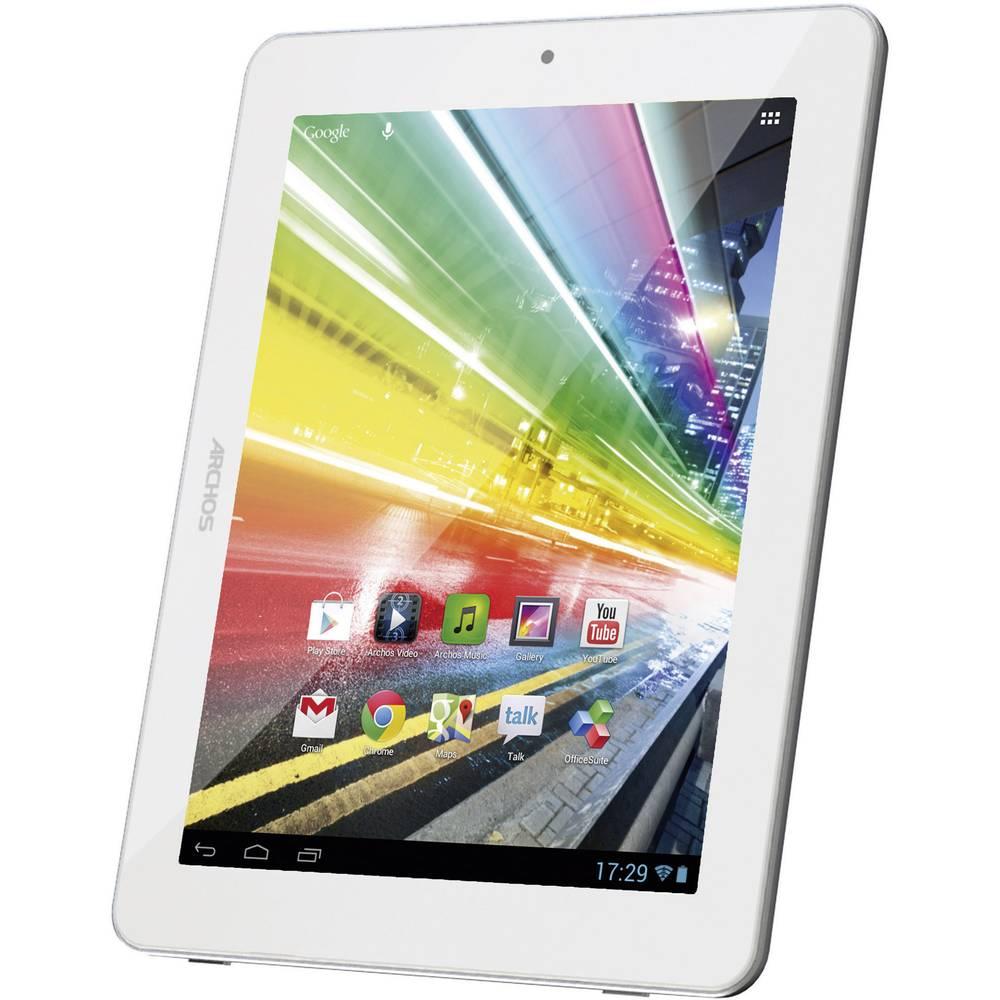 tablette android 8 pouces archos 8 go wifi blanc. Black Bedroom Furniture Sets. Home Design Ideas